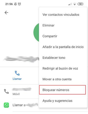 Blocca un numero di telefono su un cellulare Android