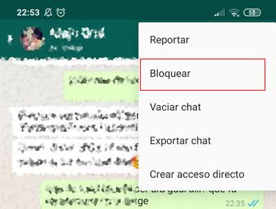Blocca un numero di cellulare su WhatsApp