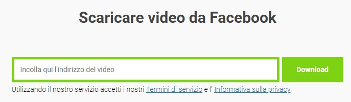 Scaricare video da Facebook iPhone