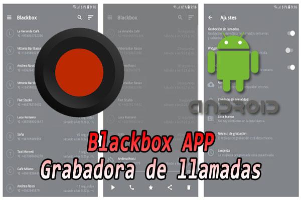 Scarica Blackbox APP APK registratore di chiamate GRATUITO per Android