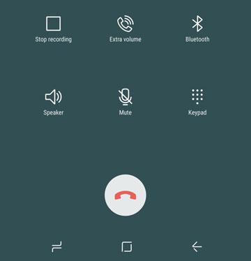 Registra una chiamata su un Samsung