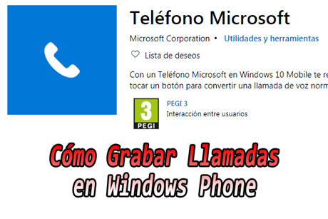 Come registrare una chiamata su Windows Phone