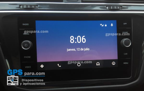 Display-start-Android -Auto