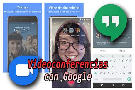 Come realizzare una videoconferenza con Google Free: DUO e Hangouts